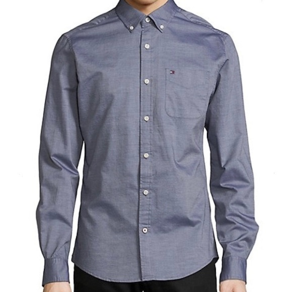 Tommy Hilfiger Capote Cotton Custom Fit Shirt